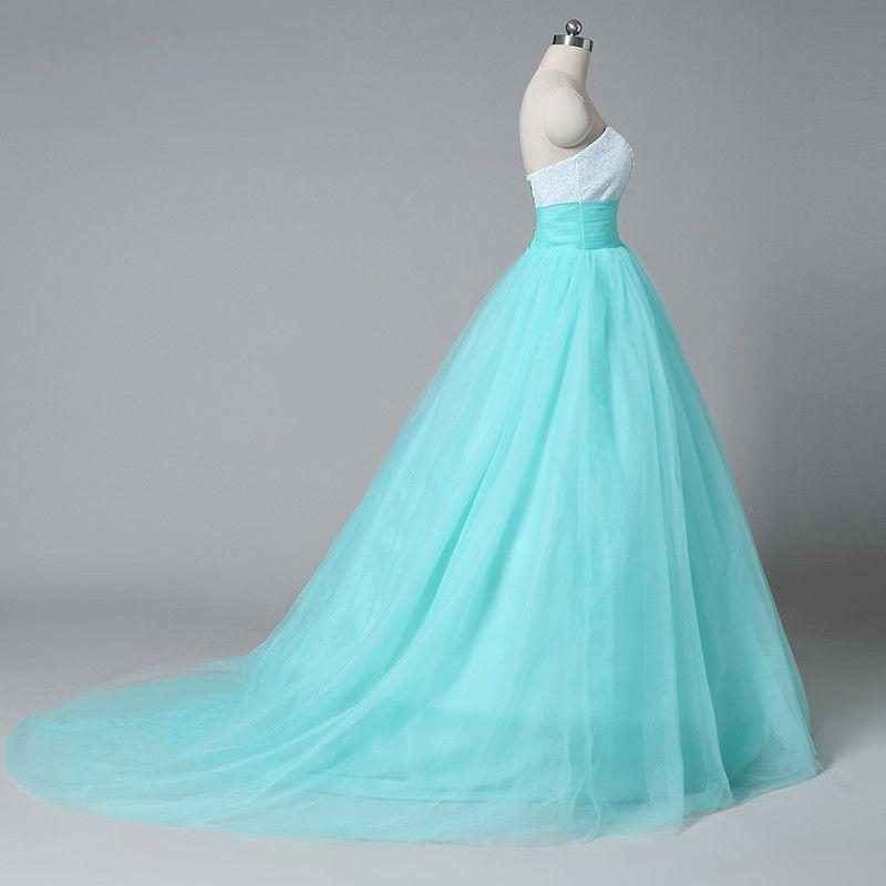 d9aa26832c9b plesové šaty mentolové zelené na maturitní ples - plesové šaty ...